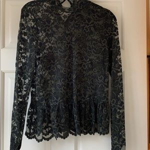 Long sleeve Gianni lace blouse